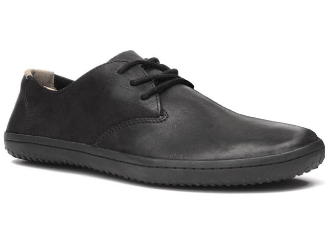 Vivobarefoot Ra II Chaussures en cuir Homme, black